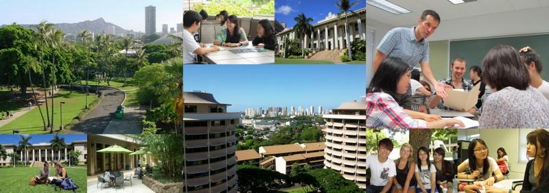 海外留学プログラム-専門学校ライフジュニアカレッジ-LIFE Jr. College-沖縄県の専門学校-長期留学-アメリカ-米国-ハワイ州-ホノルル-ハワイ大学マノア校