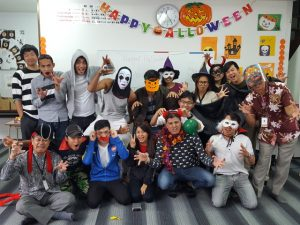 LifeJrCollege-Okinawa-Happy Halloween Party-English Class-ハロウィーンパーティー