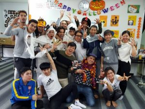 LifeJrCollege-2017-Halloween-Party-Annual-Events-Campus-Life-2nensei-ハロウィーン-パーティー- たくさんの楽しみ